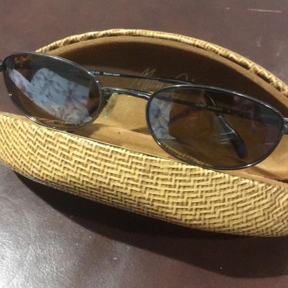 743d3f7f42 Maui Jim sunglasses polarized brown wire frames